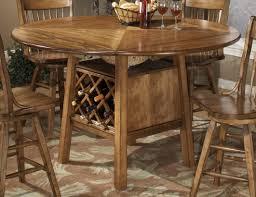 Homelegance Golden View Drop Leaf Counter Height Table - Counter height dining table drop leaf