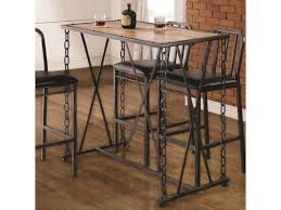 Industrial Bar Table Bar Table Welded Chain Link Legs