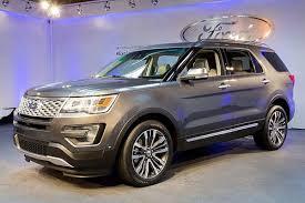 ford explorer trim 2016 ford explorer base model price unchanged platinum trim