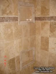 Bathroom Shower Tub Tile Ideas by 64 Best Tile Images On Pinterest Bathroom Ideas Bathroom Tiling