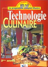 technologie cuisine cap technologie culinaire abebooks