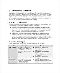 service level agreement 18 free pdf word psd documents