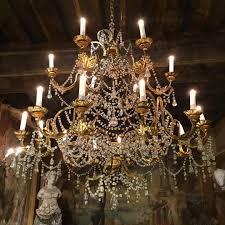 Baroque Chandelier 18th C Baroque Chandelier Yveline Antiquites Yveline Antiquites