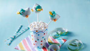 duck cake and duck cake pops and duck