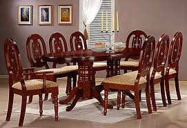 8 Seater Dining Table Design With Glass Top Dining Table Pictures With Price Home And Furniture