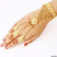 fingers rings gold images Three fingers ring bracelet 1847 54 panjangla or panja ring JPG