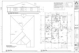 blueprint house sample floor plan home building plans 17564