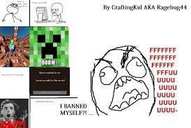 Derp Meme Comic - meme banned myself comic derp minecraft blog