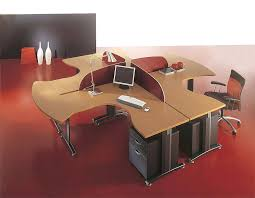 Modular Office Furniture Office Green Accent Office Furniture With Swivel Chair And