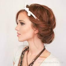 elastic hair band hairstyles best 25 headband hair tuck ideas on pinterest headband updo