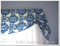 How To Make A No Sew Window Valance How To Make A No Sew Window Treatment In My Own Style