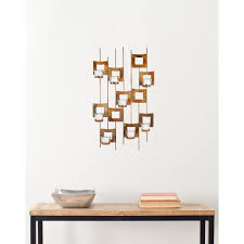 Copper Wall Decor by Sunjoy Moose Metal Outdoor Wall Decor 110311025 The Home Depot