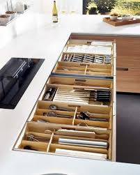 Best Kitchen Organized Drawers Images On Pinterest Kitchen - Kitchen cabinet drawer dividers
