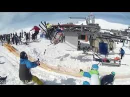 Ski Meme - put me like fpv perspective of the ski lift accident in gudauri