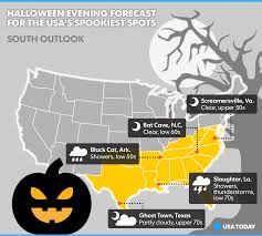spirit halloween hattiesburg ms halloween weather forecast ghastly for deep south great lakes