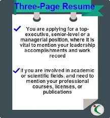 Resume Should Be How Many Pages Cv Length How Many Pages Should A Resume Cv Be
