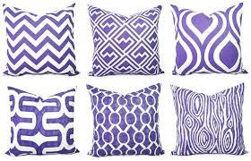 Lovely Purple Decorative Pillows Dark Purple Throw Pillows Purple