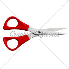 household scissors sketch gl stock images