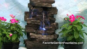 rainforest tabletop water fountain youtube
