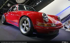 singer porsche red naias 2017 a story of michelin and singer u2013 p9xx