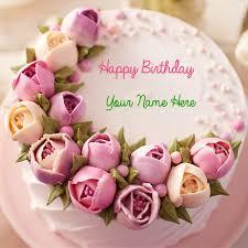 birthday flower cake happy birthday flower cake happy birthday delicious flower cake