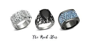 rock star rings images How to wear your fashion rings with style eternal sparkles jpg