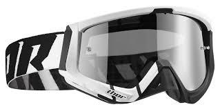 thor motocross helmets thor sniper barred goggles revzilla
