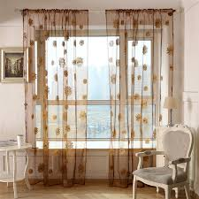 Sunflower Valance Kitchen Curtains by Compare Prices On Sunflower Curtains Online Shopping Buy Low