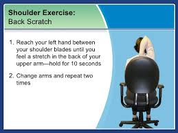 Neck Exercises At Desk Exercising At Your Desk