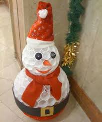 diy snowman using plastic cups cups plastic and diy and crafts