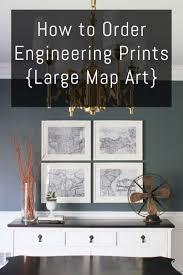 cheap art prints how to order engineering prints large map art engineering