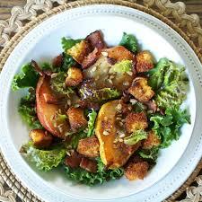 Salad Main Dish - harvest pear salad simply sated