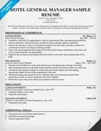 Hotel Management Resume Esl Application Letter Ghostwriters Website Au How To Write