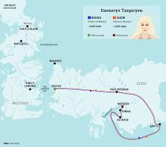 Essos Map Game Of Thrones U0027 Daenerys U0027 Journey Business Insider