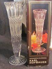 Vintage Lenox Crystal Star Bud Vase Tall Crystal Vase Ebay