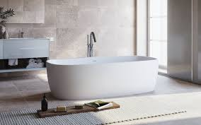 aquatica coletta solid surface freestanding bathtub by aquatica