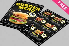 flyer menu template 40 restaurant templates suitable for professional business free