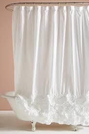 White Shower Curtain Rivulets Shower Curtain Anthropologie