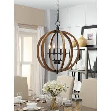 Wood Pendant Light Fixture Furniture Amazing Lowes Chandeliers Crystal Wooden Bead