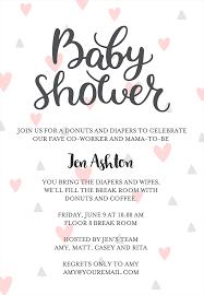 Baby Shower Invites Wording Ideas Baby Shower Invite Message Linksof London Us