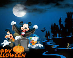 halloween 4k wallpaper mickey mouse gofy and donald duck happy halloween backgrounds