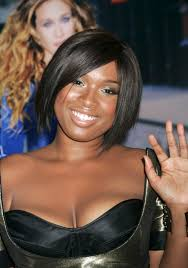 Jennifer Hudson Short Hairstyles African American Short Haircut Idea Smooth Asymmetrical Bob