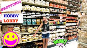 having fun shopping at hobby lobby bcutecupcakes life youtube