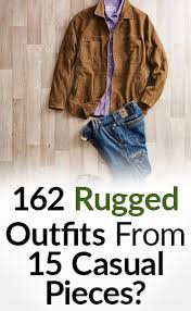 Rugged Outdoors 162 Rugged From 15 Casual Pieces Interchangeable