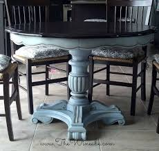 Kitchen Round Tables by Best 25 Refurbished Kitchen Tables Ideas On Pinterest Redoing