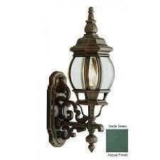 verde green outdoor wall light trans globe lighting 4050 vg outdoor francisco 20 5 wall lantern