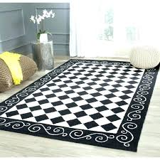 Checkered Area Rug Checkered Area Rug Black And White Checkered Rug Black And