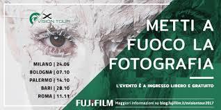 ingresso fiera levante fujifilm x vision tour 2017 alla fiera levante di bari