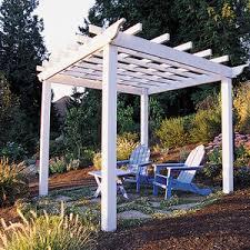 How To Build A Backyard Swing Trellis U0026 Arbor Ideas Sunset