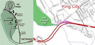 california map king city san lorenzo park king city ca pacific rv service net